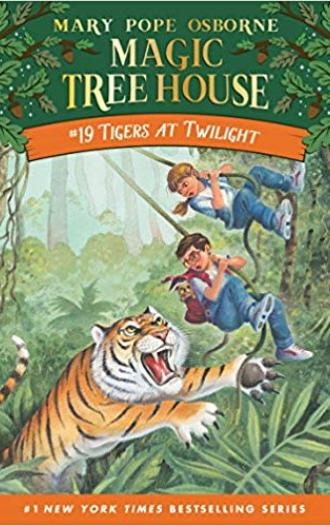 Magic tree house-Tigers at twilight-19 (Box Set)